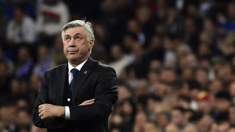 Carlo Ancelotti: Is reportedly under pressure at Real Madrid