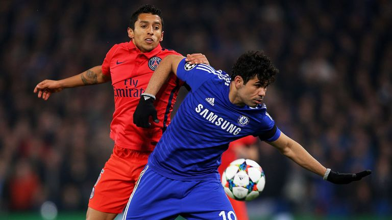 Diego Costa: The forward was at the centre of things but is not in good form