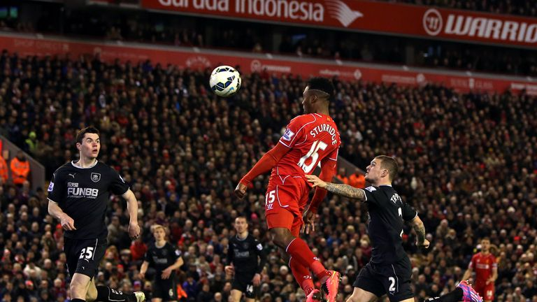 Daniel Sturridge headed home the second goal after half-time
