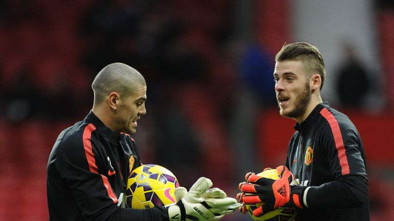 Vi­ctor Valdes has arrived as back-up goalkeeper adding to the speculation