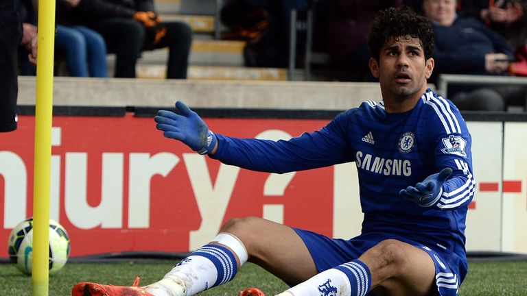 Diego Costa: Has been key in Chelsea's title charge so far