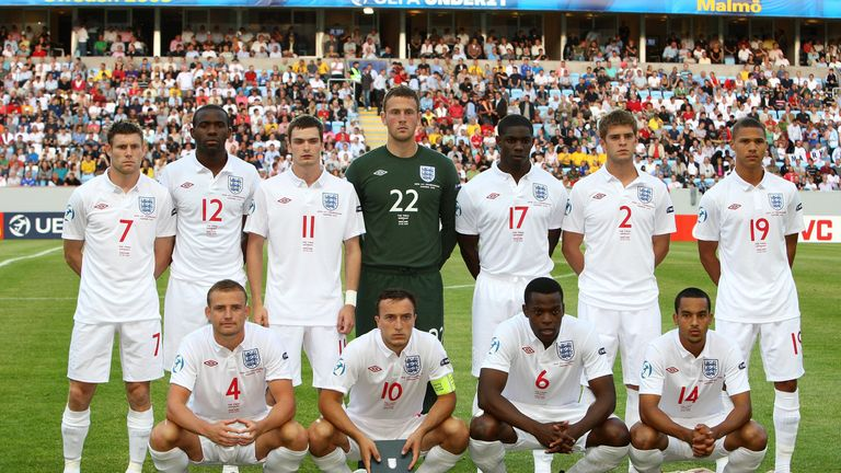 Five of England's starters in the 2009 final failed to earn a senior cap