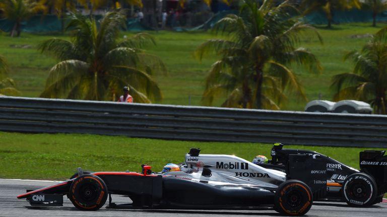 Fernando Alonso: Climbed as high as eighth