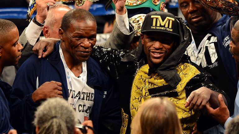 Floyd Mayweather Sr: Will offer words of advice to his son on May 2
