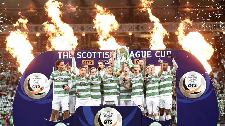 Celtic win the Scottish League Cup