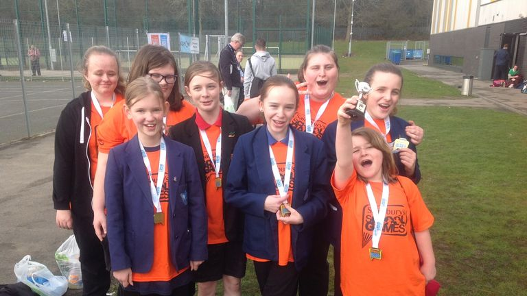 Inclusive winners Campion and Myton School