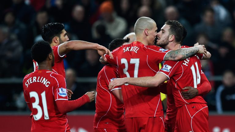 Merson feels Liverpool's attacking players will pose too much of a threat to United at Anfield in the Super Sunday clash