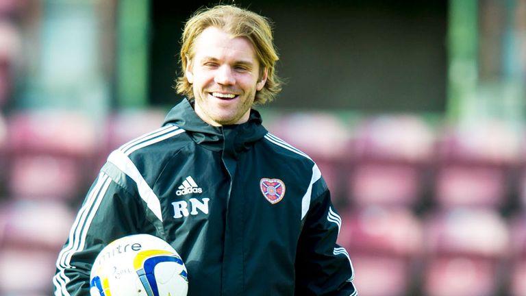 Hearts manager Robbie Neilson: Reportedly keen to lure Nigeria full-back Juwon Oshaniwa to Tynecastle next season
