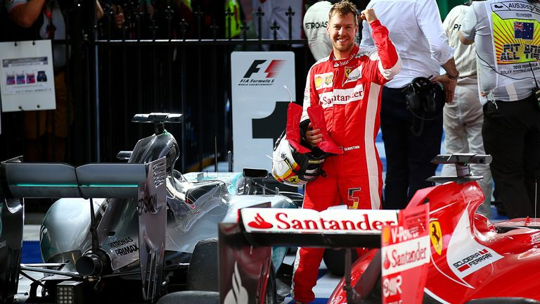 Sebastian Vettel: Podium finish on debut