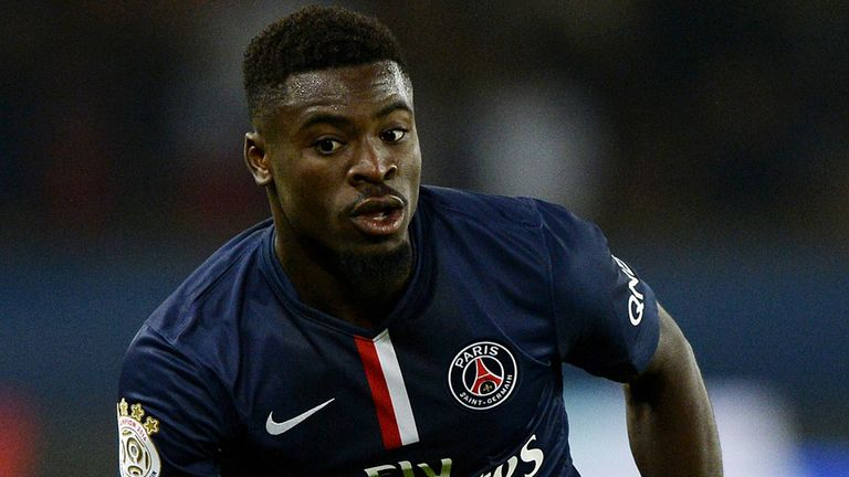 Serge Aurier: signs for PSG on a permanent deal until 2019