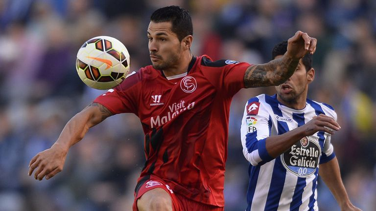 Vitolo has been in great for for Sevilla this season