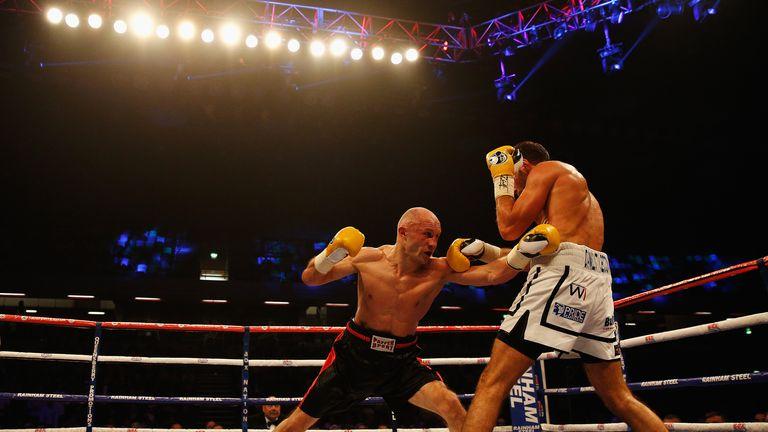 Frank Buglioni was beaten by Sergey Khomitsky