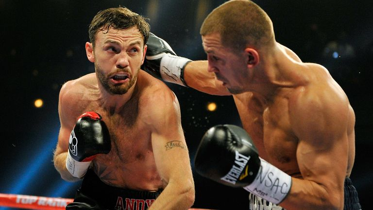 Andy Lee: Looking to defend his world title on Saturday night