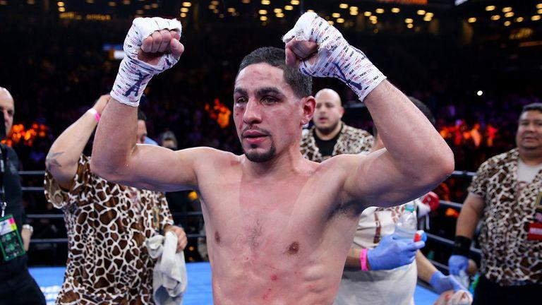 Danny Garcia is still unbeaten after a tough battle with Lamont Peterson