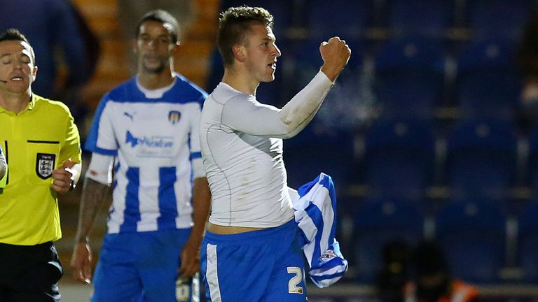 George Moncur has five goals for Colchester in Sky Bet League One this season