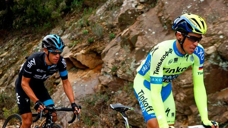 Richie Porte got the better of Alberto Contador at the Volta a Catalunya