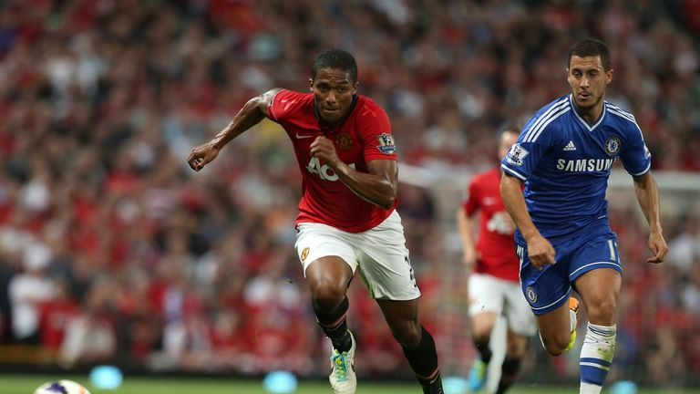 Antonio Valencia faces a tough assignment having to deal with Eden Hazard