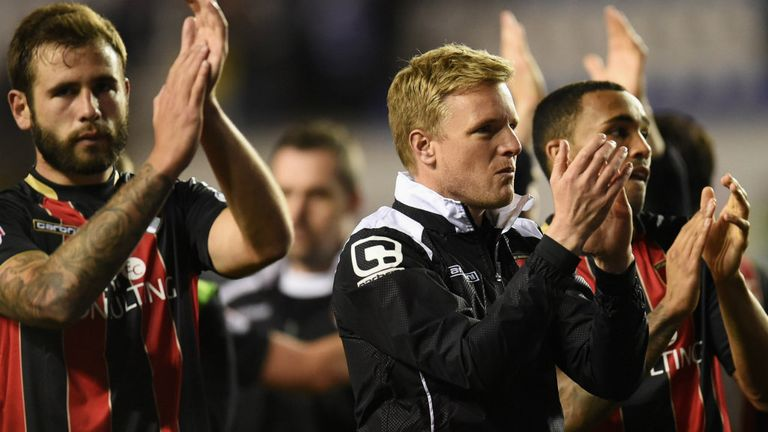 Eddie Howe has established himself as one of the UK's most talented young managers