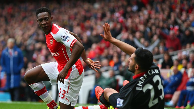 Welbeck has been out all season with a serious knee injury