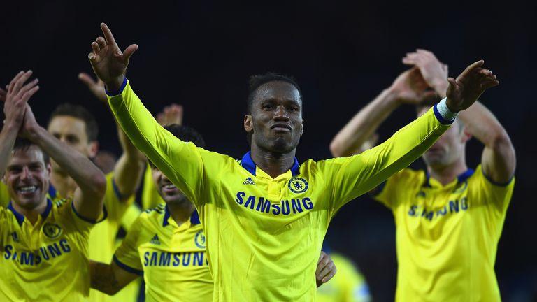 Didier Drogba scored seven goals for Chelsea last season.