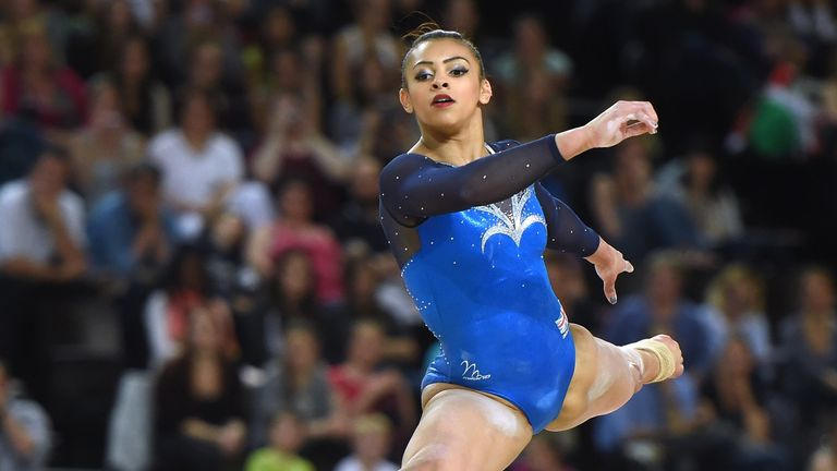 Ellie Downie: Wins bronze at the European Championships