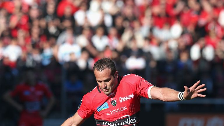 Frederic Michalak: Was in fine kicking form for Toulon