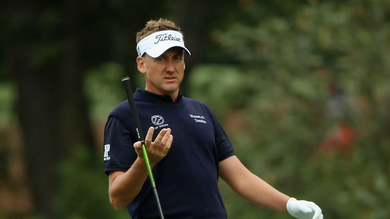 Ian Poulter says his putter has been letting him down of late