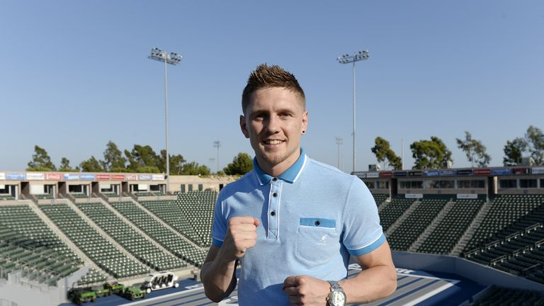Jason Quigley: Hopes to become a boxing star in America