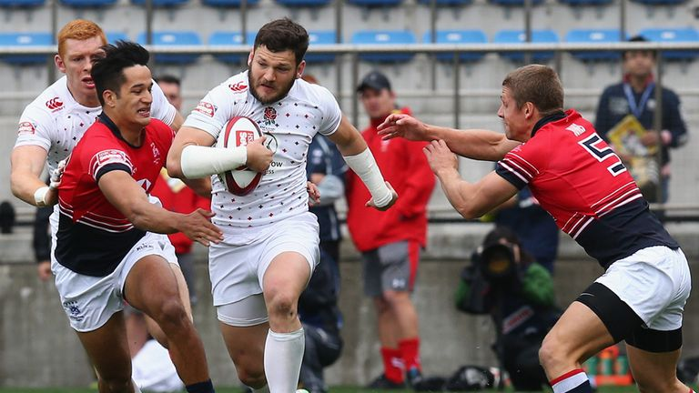 Jeff Williams: Helped England win the Tokyo Sevens earlier this month