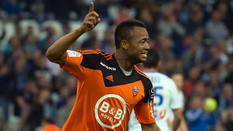 Jordan Ayew: On target for Lorient