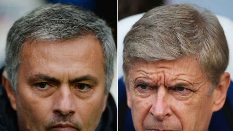 Arsene Wenger: Out to break a 12-game jinx against Jose Mourinho
