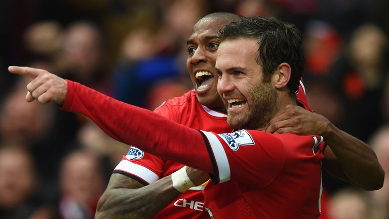 Ashley Young and Juan Mata have been in excellent form in recent weeks
