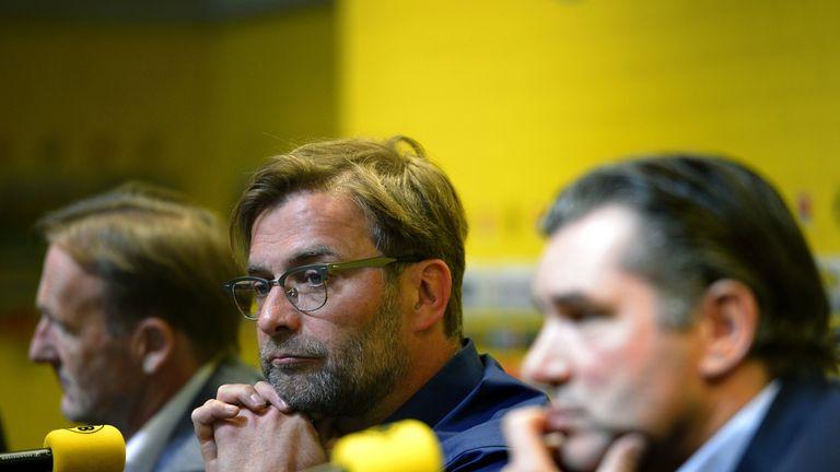 Jurgen Klopp - City not considering bringing him to Etihad