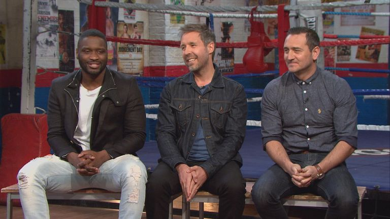 Former Ringside guest Considine (middle) will be watching