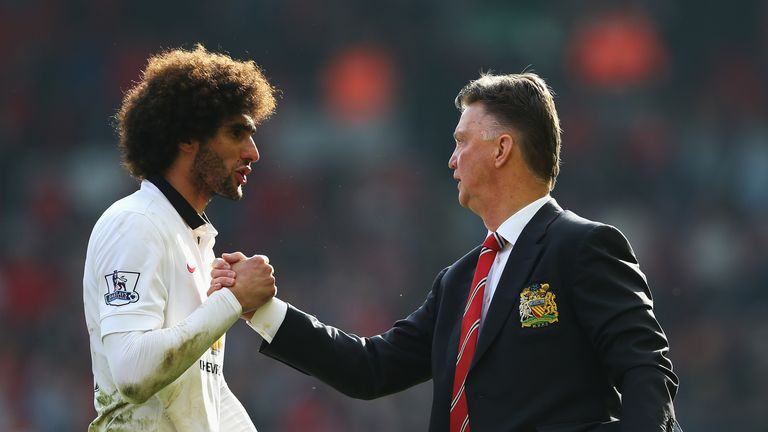 Marouane Fellaini hits out at Man United for sacking Jose Mourinho