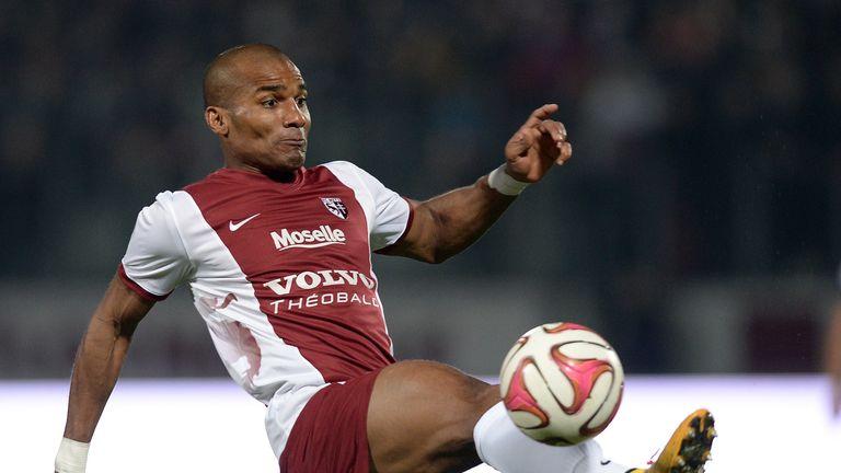 Malouda in action for Metz last season