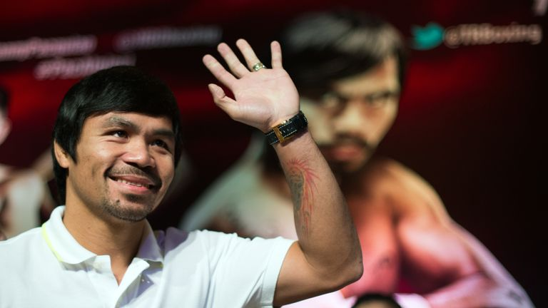 Manny Pacquiao: Might be tempted to wave goodbye after this weekend