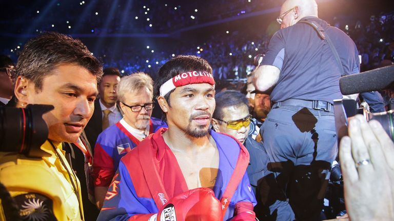 The Philippines have declared a national holiday for Pacquiao's super fight with Mayweather