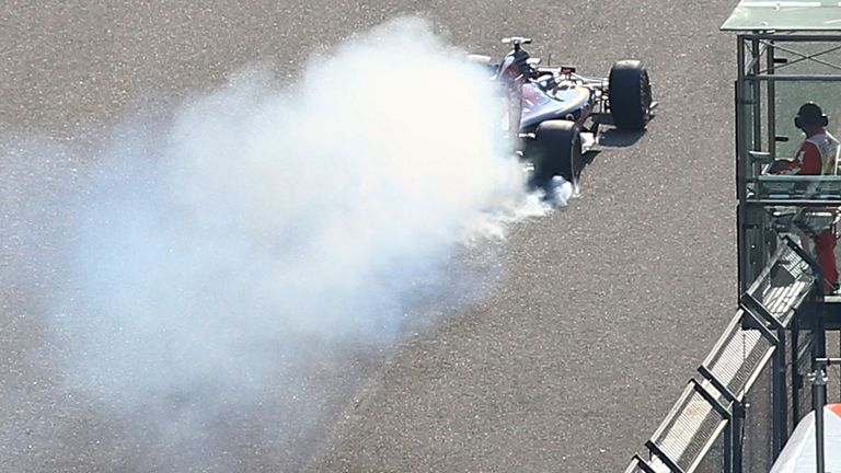 Verstappen's impressive Shanghai race went up in smoke