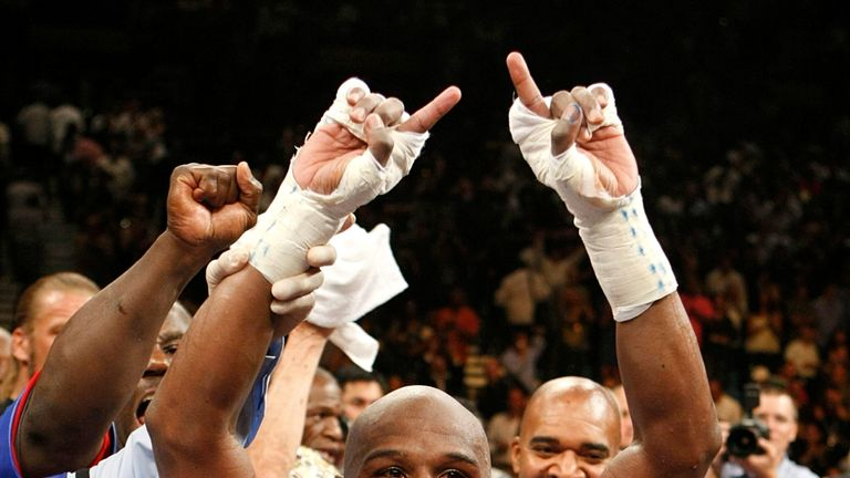 Floyd Mayweather: The American had a six fight pay-per-view deal with Showtime
