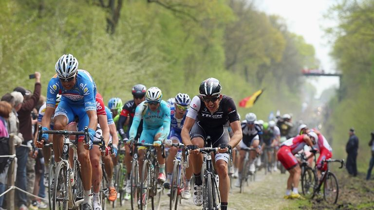 This year's race will contain 52.8km of cobbles