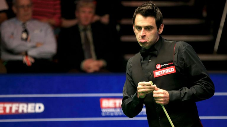 Ronnie O'Sullivan: Faces no punishment over chalk incident