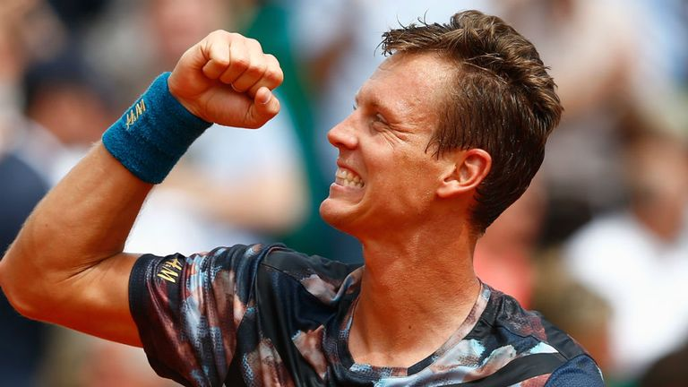 Berdych: Eased past Gael Monfils in his semi-final