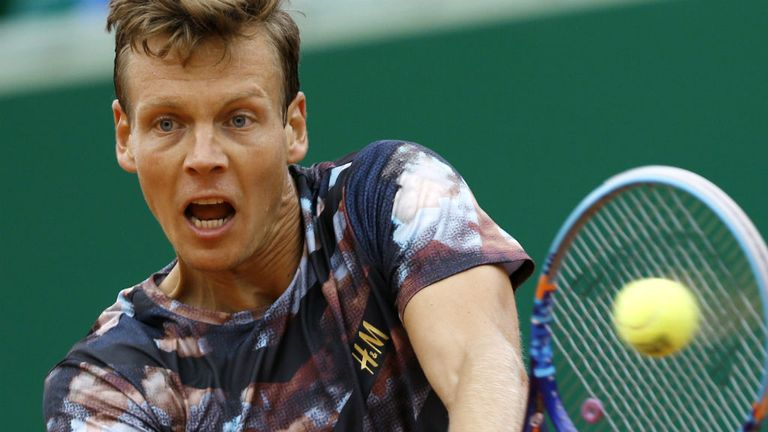 Berdych played some of his best tennis on the dirt