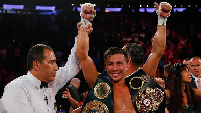 Gennady Golovkin (right) will be looking to extend his impressive unbeaten run