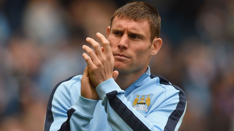 James Milner won two Premier League titles with Manchester City