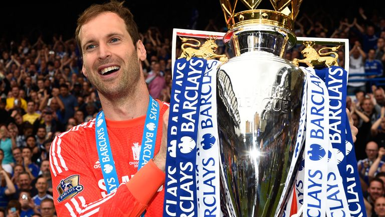 Petr Cech has won 13 major titles with Chelsea