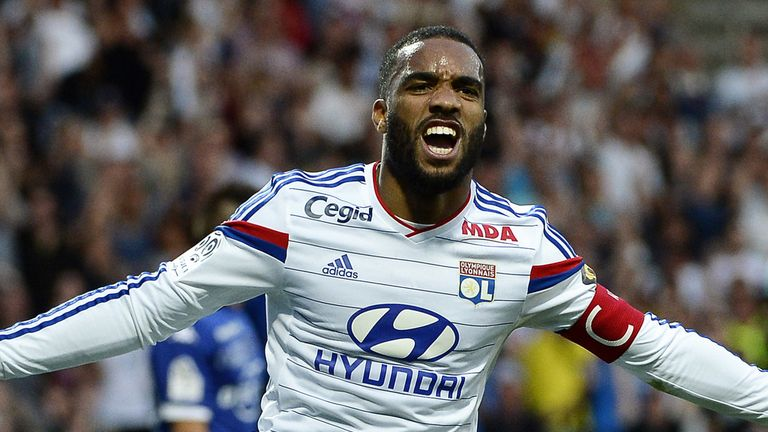 Is Lyon's Alexandre Lacazette the striker Arsenal are looking for?
