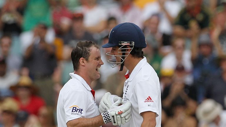 Strauss and Alastair Cook combine as England score a massive 517-1