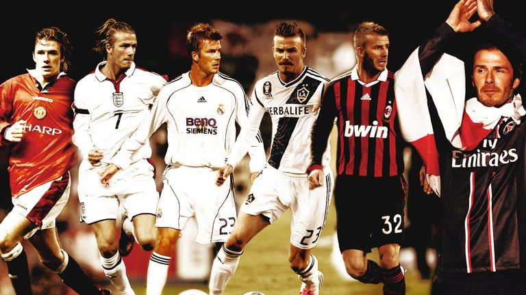 Image result for david beckham career